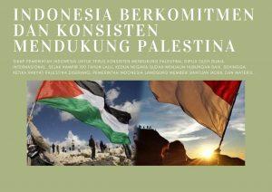 Indonesia Berkomitmen dan Konsisten Mendukung Palestina