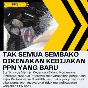 Tak semua sembako dikenakan kebijakan PPN yang baru